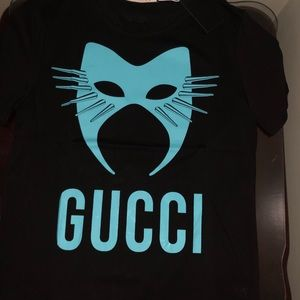 Gucci mask tee size medium